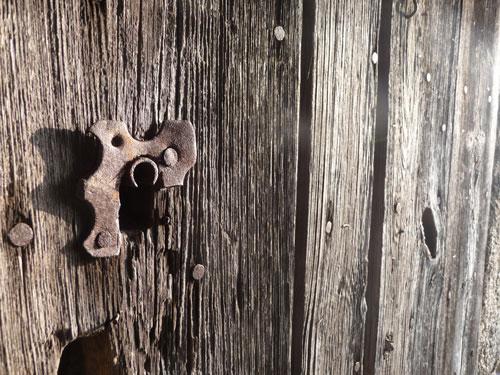 serrure-vieille-porte